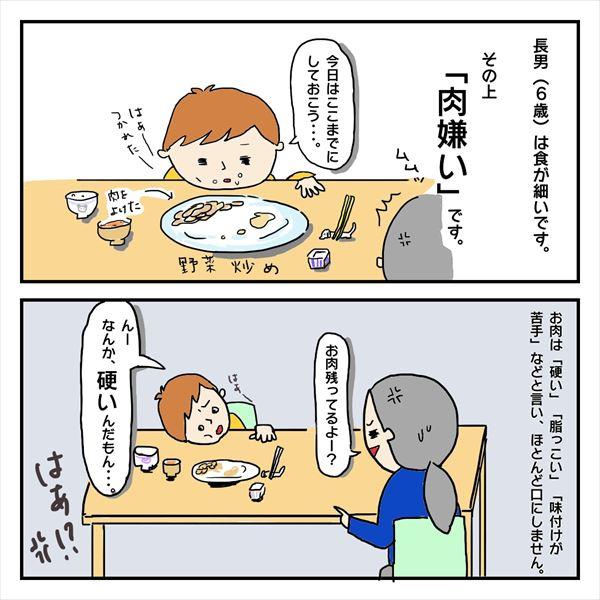 なぜ、食べないのか。息子の偏食日記2