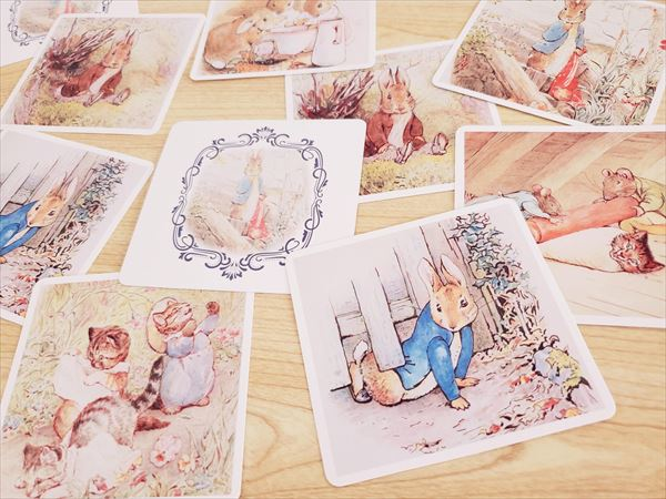 ピーターラビットの絵合わせカード